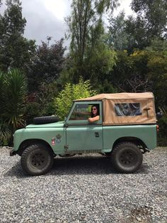 Let's take the Land Rover on an adventure!