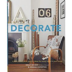 Book - Decorate: 1,000 Professional Designs.