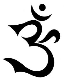 "This third force of ""center"" and ""balance"" is the number Three, the AOUM sound, chanted by Eastern mystics. The AOUM symbol is shaped like the number Three itself—as scholars say—denoting the balance of opposites:"