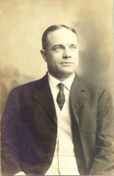Billy Sunday (1862-1935) late 19th & early 20th Century American evangelist