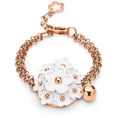 Folli Follie Follie Di Fiori Rose Gold Bracelet  ((love the flowers))