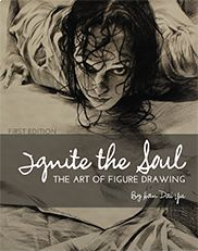 """Ignite the Soul: The Art of Figure Drawing"" with drawings and text By Han Dai-Yu—This text contains everything you need to learn to master the challenge of drawing the human figure."