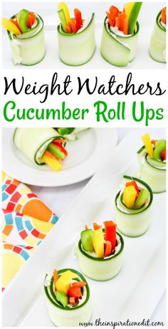 Healthy cucumber bites for a buffet. If your looking for healthy party snacks then look no further. Today I am sharing these super tasty vegetable Weight Watchers Snacks, Weight Watchers Breakfast, Weight Loss Snacks, Healthy Party Snacks, Healthy Fruits, Healthy Appetizers, Ww Recipes, Snack Recipes, Healthy Recipes