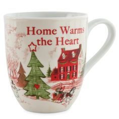 Home Warms The Heart Collection Holiday Mug Home Warms The Heart ** See this great product. (This is an affiliate link)