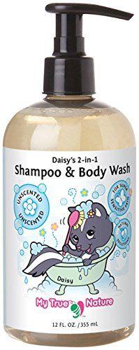 My True Nature Daisy's 2-in-1 Shampoo/Body Wash - Super Sensitive Unscented -12oz