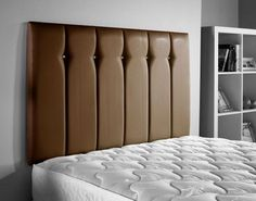 ValuFurniture Jubilee Leather Headboard in Brown Sizes Leather Headboard, Leather Bed, Dream Bedroom, Master Bedroom, Headboards For Beds, Headboard Ideas, Line Design, Home And Garden, Brown