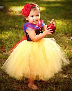 Snow White Tutu Dress Halloween Costume by BlissyCoutureTutus, $60.00