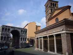 St. George in Velabro  and the Arch of Janus