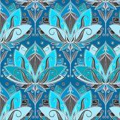 p/art-deco-lotus-rising-black-teal-turquoise-pattern-art-print-by-micklyn - The world's most private search engine Pattern Dots, Art Deco Pattern, Pattern Design, Pattern Fabric, Textile Patterns, Print Patterns, Pattern Print, Tribal Patterns, Backgrounds