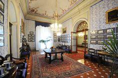 Dining Room - Viti Palace Museum, Volterra, Tuscany, Italy