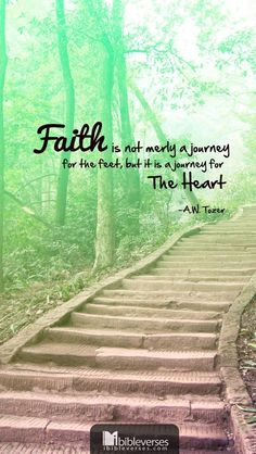 A W Tozer: Faith a journey for the heart.