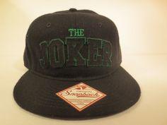 8a8852d9695c Joker Youth Hat Cap Snapback Costume Cosplay DC Comics Trucker Hat  DCComics   BaseballCap Black