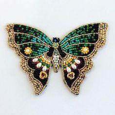 Jewerly Making Ideas Earrings Beautiful Ideas For 2019 Fairy Jewelry, Butterfly Jewelry, Big Butterfly, Bead Embroidery Jewelry, Beaded Embroidery, Modern Embroidery, Brooches Handmade, Earrings Handmade, Bead Jewellery