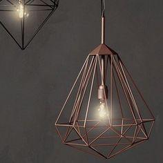 Κρεμαστό Φωτιστικό Οροφής Medium Diamond   Design Is This