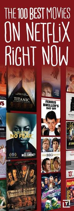 100 Best Movies on Netflix Right Now From dramas to comedies to movies that will have you hiding under a blanket, these are Netflix's best.From dramas to comedies to movies that will have you hiding under a blanket, these are Netflix's best. Comedy Movies On Netflix, Netflix Shows To Watch, Netflix Hacks, Netflix Dramas, Good Movies On Netflix, Netflix Tv, Movies Online, Latest Movies, Best Movies 2017