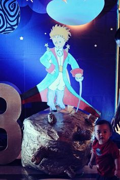 Jacob's The Little Prince Themed Party – Stage Decor