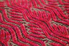 Two Color Brioche Knitting