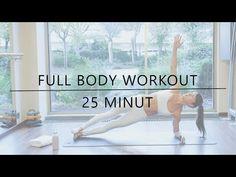 POSILOVÁNÍ CELÉHO TĚLA - FULL BODY WORKOUT - FitnessGo - YouTube Body Fitness, Full Body, Ballet Dance, Workout, How To Plan, Sports, Youtube, Tela, Hs Sports