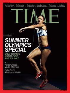 Summer Olympics Special (Europe, Middle East and Africa)- Time Magazine Cover July 30, 2012