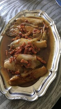 endives braisées | Recettes Cookeo Hors D'oeuvres, Looks Yummy, Meal Prep, Pork, Appetizers, Healthy Recipes, Meals, Cooking, Ethnic Recipes