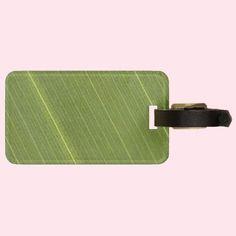 Palm Tree Leaf Tag For Luggage