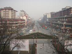 Street view in Xian, China
