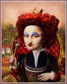 Mona Queen of Hearts... | The Whimsey Asylum... | Flickr