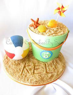 'Beach Theme' Cake                                                                                                                                                                               «CaKeCaKeCaKe»