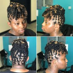 For tutorials on this style and more, visit and subscribe. Youtube.com/illrastamarley Click the link in my bio to book your appointment. #locs #locstyles #dreadhead #dreads #locstylesformen #womenwithlocs #juslocs #dmvstylist #dmvloctician #blackowned #photooftheday #updo #pinup #twostrandtwist #hair #salon #longlocs #hairporn #juslocs