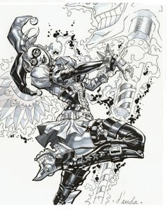 Harley Quinn by Carlos D'Anda