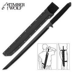 Timber Wolf Full Tang Ninja Sword (Zombie Killer?) $19.99