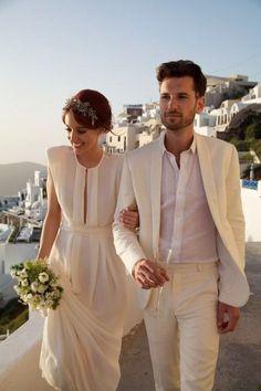 Noivos com Estilo - (terno branco)