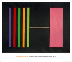 Untitled 7739 Poster - Color Variations Series 2013 $20.00