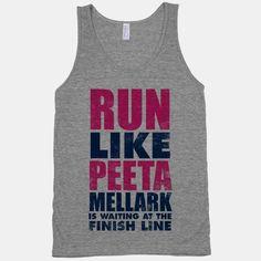 Run Like Peeta Mellark Is Waiting At The Finish Line | HUMAN