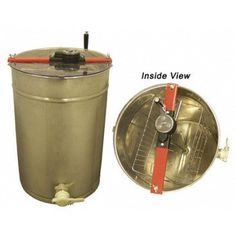 BuildaBeehive Honey Extractor Spinner Constructed of High-Polished Stainless Steel with Turning Manual Hand Crank Honey Extractor, Bee Creative, Best Honey, Garden Animals, Look Good Feel Good, One With Nature, Garden Structures, Farm Gardens, Bee Keeping