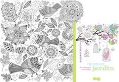 """Coloriage """"Inspiration Amazonie"""" - Des coloriages anti-stress en printable gratuit - Prima.fr"""