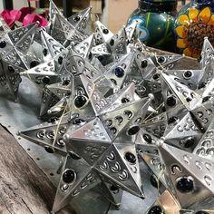 Tin Metal Hanging Light Stars