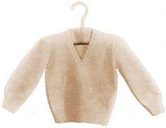 Baby Sweater Free Knitting Pattern - KarensVariety.com
