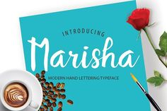 Marisha Script Font by redbox.design on @creativemarket