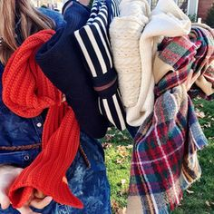 Osterville, MA Cape Cod Holebrook USA Blanket Scarf http://www.islandoutfitters.com/collections/instagram-picks