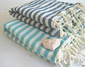 Premium Turkish Towel, Peshtemal, Beach towel, bath towel, hammam towel, Spa Towel, yoga towel, Red. $24.00, via Etsy.