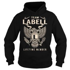 Team LABELL Lifetime Member - Last Name, Surname T-Shirt