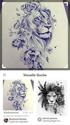 Female Lion Tattoo, Lion Head Tattoos, Leo Tattoos, Tiger Tattoo, Hand Tattoos, Side Hip Tattoos, Hip Tattoos Women, Tattoo Sleeve Designs, Sleeve Tattoos