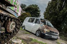 VW T4 slammed hydros