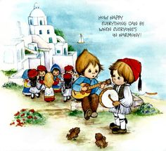 Greece by Betsy Clark