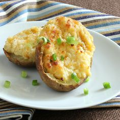 Twice Baked Potatoes are an easy side dish for your special dinner.