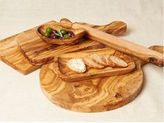 Olive Wood Cutting Boards.