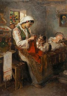 """Maternitatea"" Vermont, Romania, New Art, Art Gallery, Pastel, Wallpaper, 1 Decembrie, Artist, Portrait Paintings"
