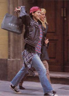 1999 > Filming of Muneca Brava - Rome natalia oreiro