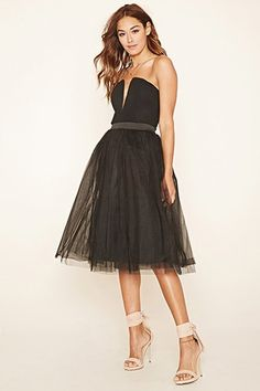 Rare London Tulle Combo Dress